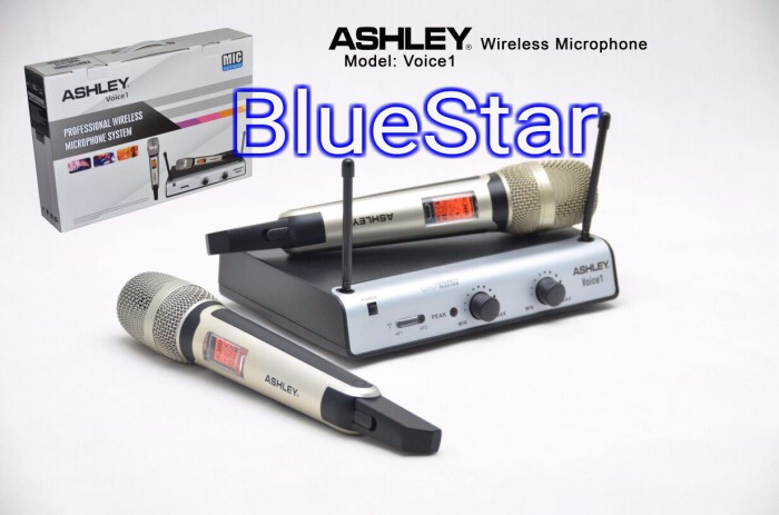 harga Mic wireless ashley voice 1 handheld original Tokopedia.com
