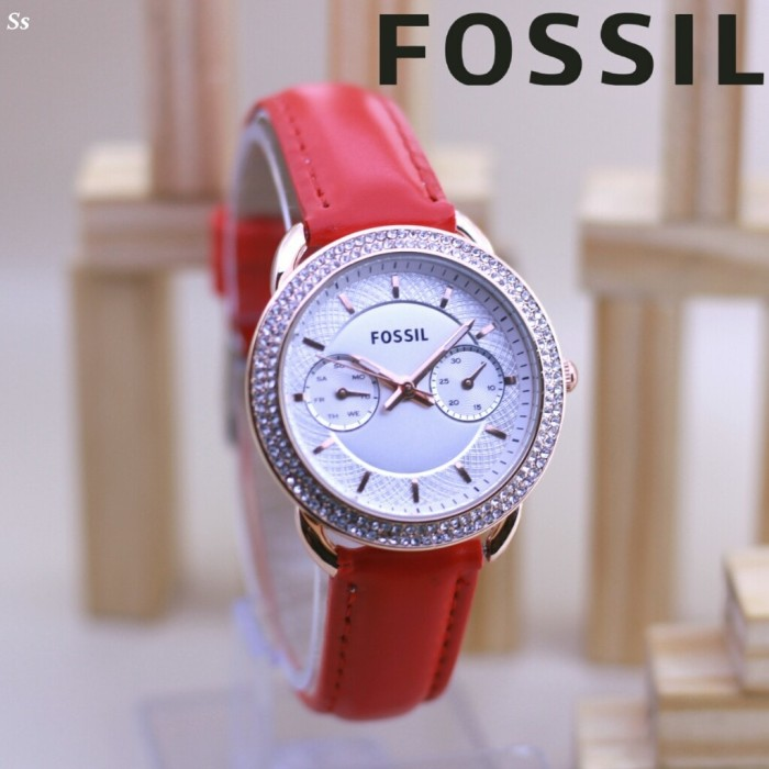 harga Jam tangan fossil rose kulit 4523 Tokopedia.com