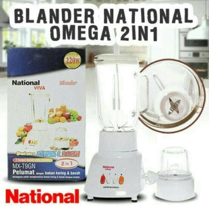 harga Blender murah national omega / viva mx-t11gn 2in1 ekonomis Tokopedia.com