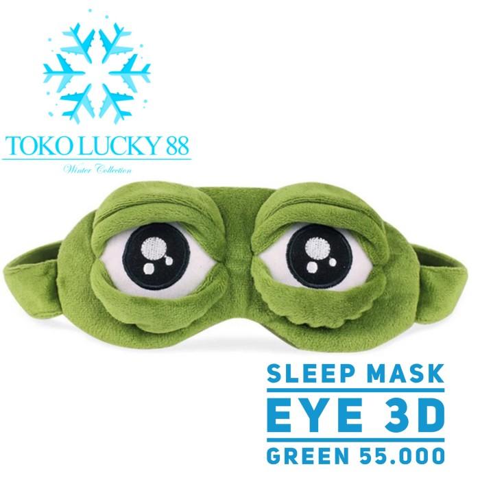 harga Sleep mask frog 3d anime cosplay penutup mata travel Tokopedia.com