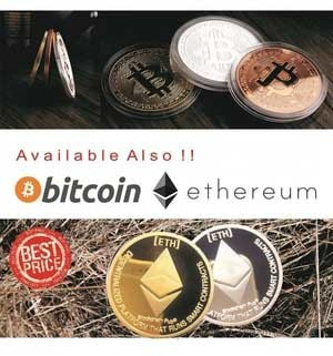 Jual Koin Ethereum Silver Gold Plated High Quality Coin ETH Digital Crypto  - Kota Surabaya - Baranguniku   Tokopedia