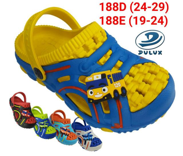 harga Sepatu sandal karet anak laki cowok model crocs merk dulux 188d tayo Tokopedia.com