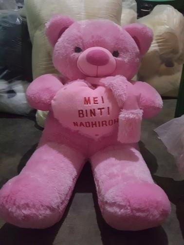 harga Boneka teddy bear bordir nama 100cm Tokopedia.com