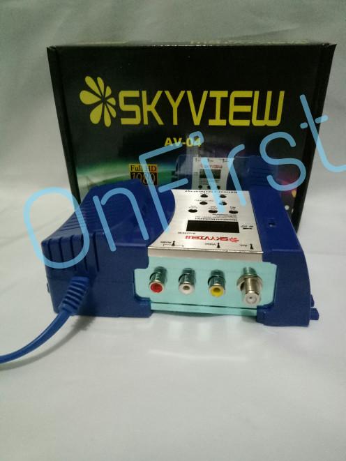 harga Skyview modulator agile av04/av to rf vhf uhf Tokopedia.com
