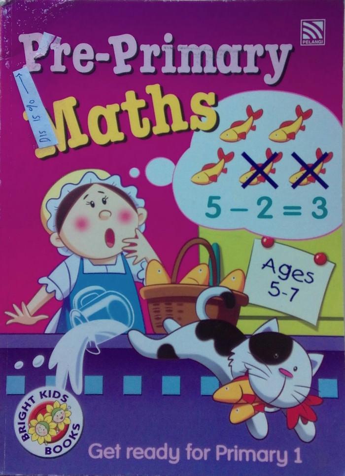 harga Bright kids books pre-primary maths Tokopedia.com