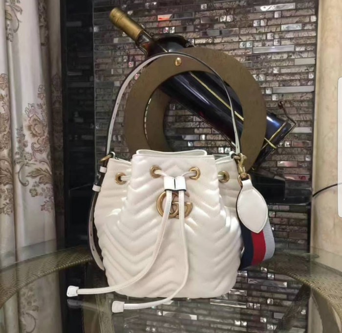 Jual Sale Tas Wanita Gucci Bucket GG Calf Mirror VIP Fullset ... 3deaf8ecd6