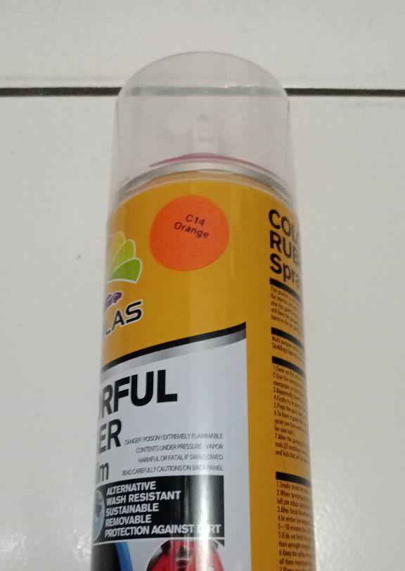 harga Carlas orange c14 rubber paint Tokopedia.com