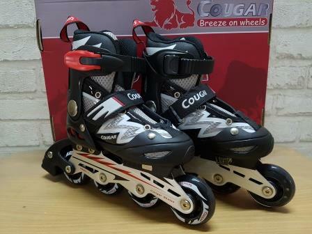 Sepatu roda cougar adjustable inline skate harga Sepatu roda cougar  adjustable inline skate Tokopedia.com dac05cc4b6
