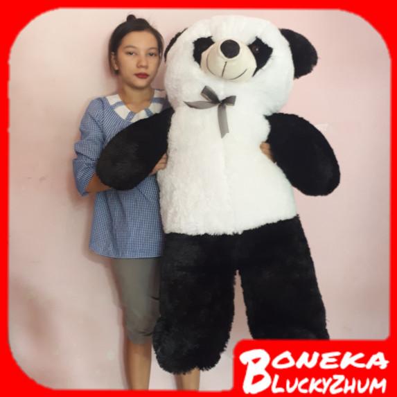 harga Boneka teddy bear / teddybear / panda hitam putih 1meter Tokopedia.com