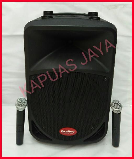 harga Speaker portable wireless baretone bt-3h1212bwr original (12inch) Tokopedia.com