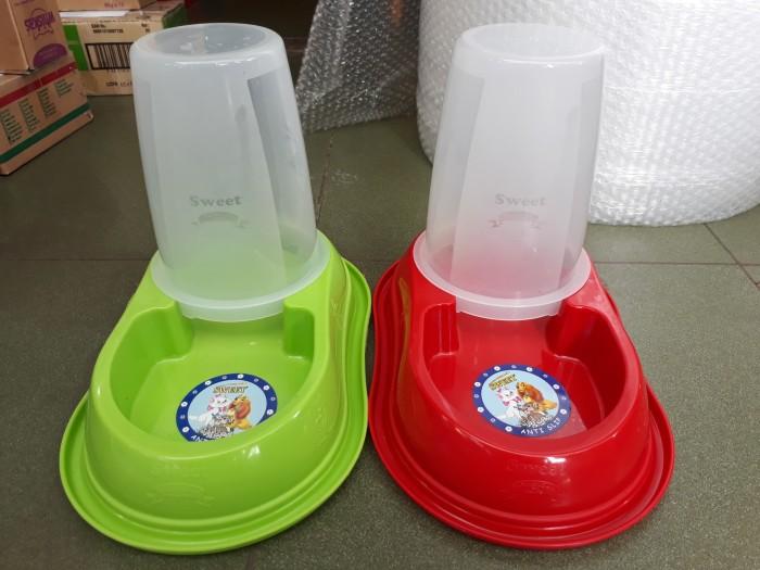 harga Dispenser tempat makan anjing / tempat makan kucing 14 liter Tokopedia.com