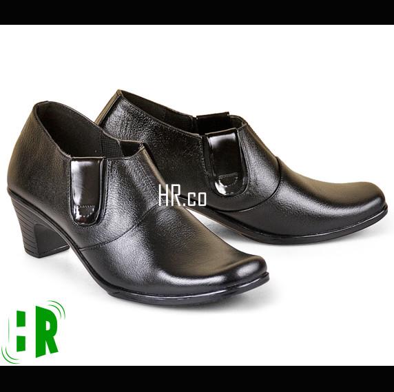 harga Sepatu pantofel wanita/formal boot kerja/kulit resmi/heels boots cewek Tokopedia.com
