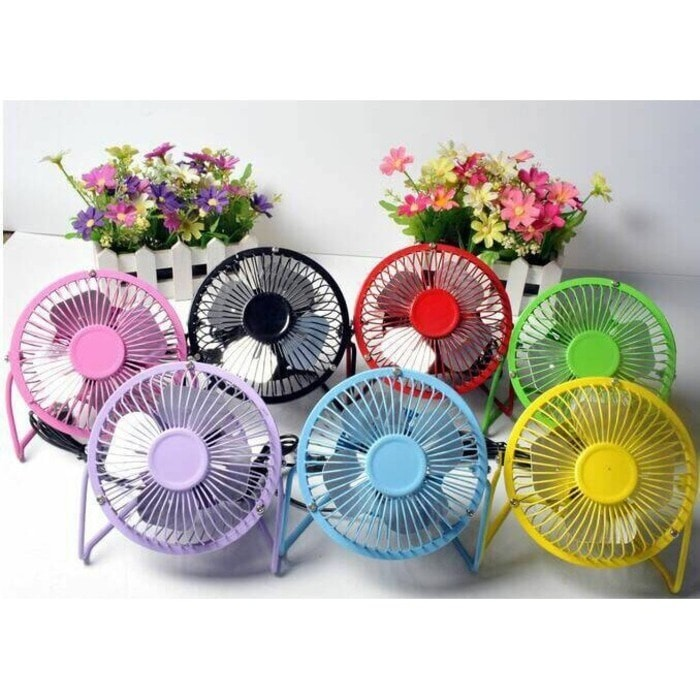harga Usb mini fan - kipas angin portabel bahan besi - kipas mini besi Tokopedia.com