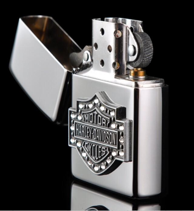 Harley Davidson Bar And Shield >> Jual Zippo Bar And Shield Crystal Harley Davidson 28349 Kota Bandung Fairuz Jersey Tokopedia