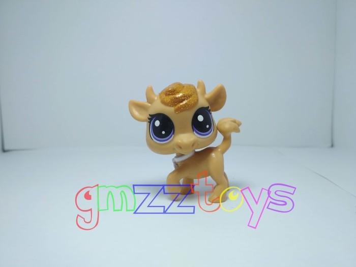 harga Hasbro littlest pet shop brown cow / bull glitter hair Tokopedia.com
