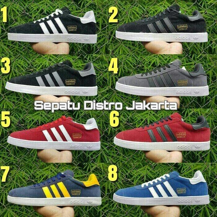 Jual Terbaru Sepatu Adidas Gazelle Casual Man Pria Untuk Cowok Grade ... ace33015c1