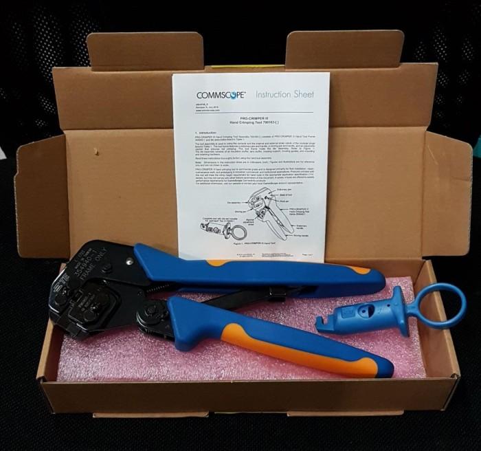 harga Amp / tyco crimping tool cat.6  pn : 790163-1 (original distributor) Tokopedia.com