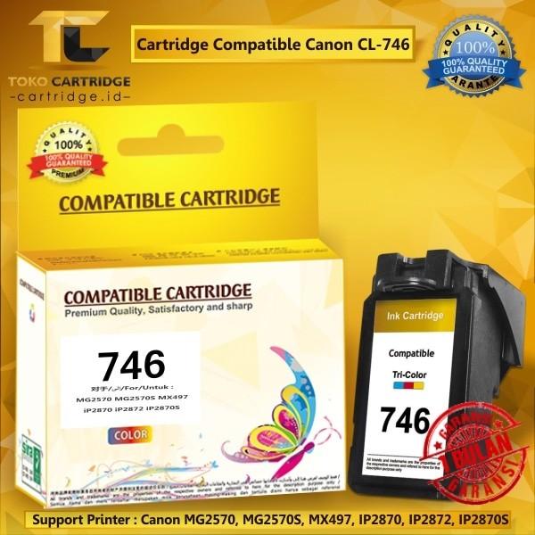 harga Cartridge tinta canon cl746 cl 746 cl-746 color catridge mg2570 mx497 Tokopedia.com