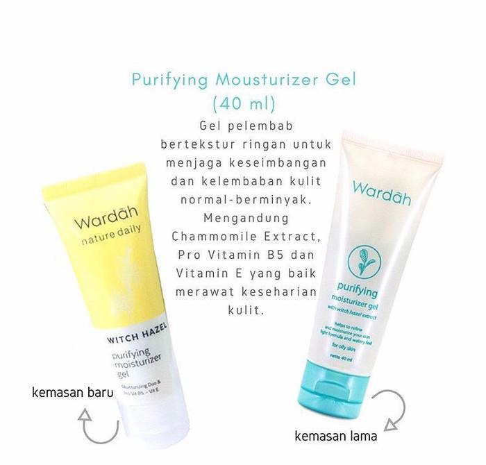 Skin Care Viva Untuk Kulit Berminyak: Jual Wardah Purifying Moisturizer Gel/Pelembab Wardah