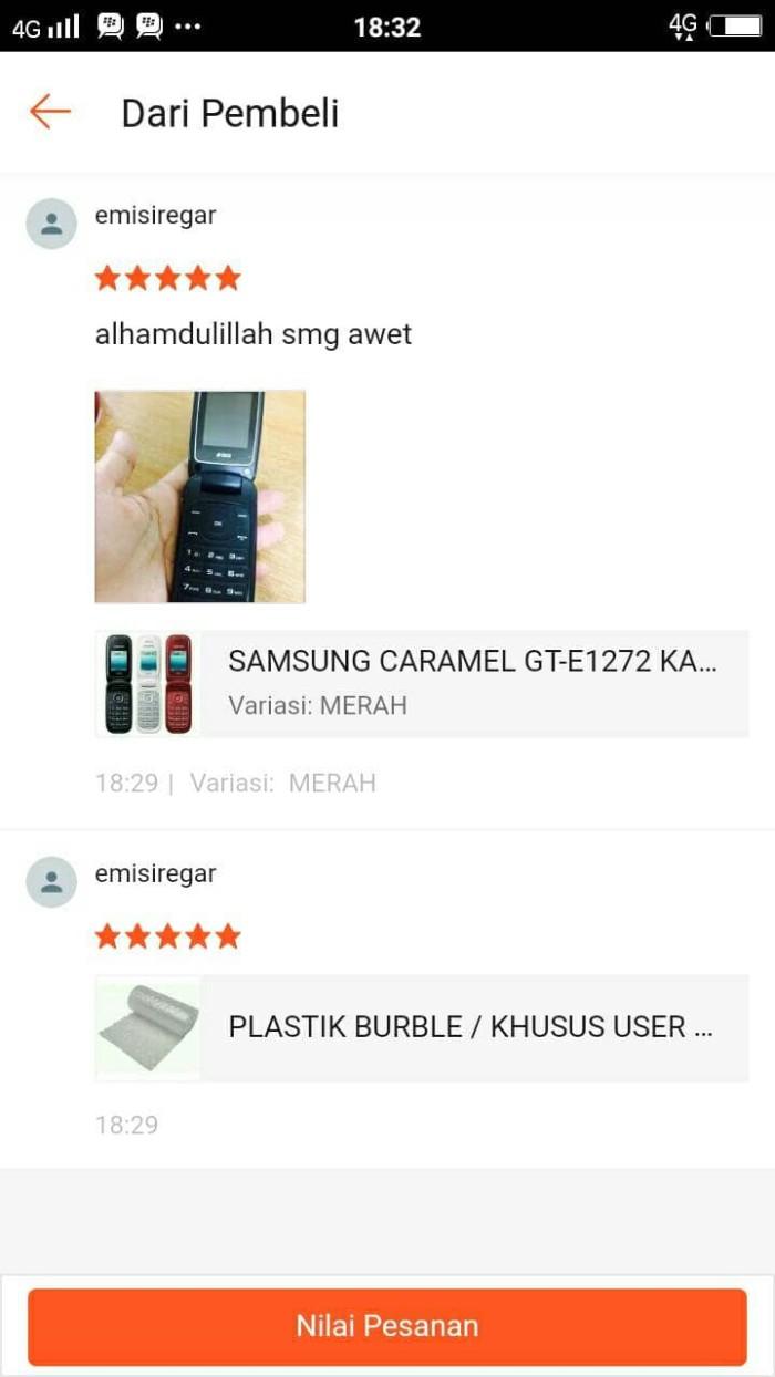 Jual Samsung Caramel Gt E1272 Kamera Garansi Distributor Ajak Sini