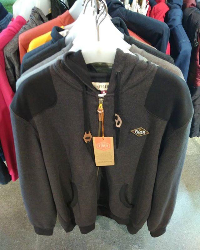 harga Jaket sweater eiger woodlane jacket black hitam 910003697007 original Tokopedia.com