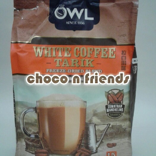 Foto Produk OWL WHITE COFFEE TARIK 3 IN 1 ORIGINAL SUMATRAN MANDHELING ARABICA dari Choco N Friends