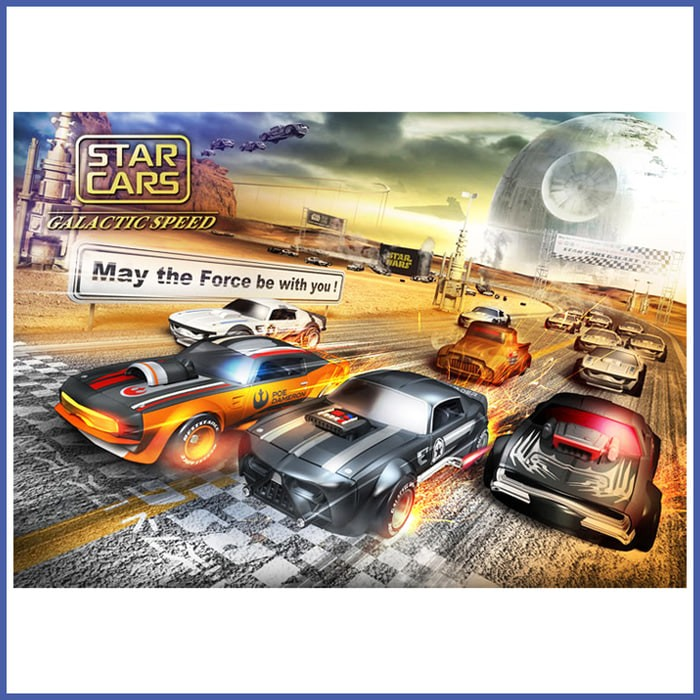 TAKARA TOMY SC-04 Star Cars BOBA FETT TR5000B Diecast Vehicle NEW from Japan