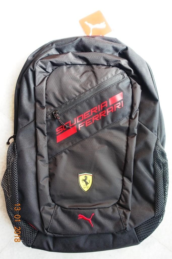 Puma Backpack Kota Jual Kediri Fanwear Ferrari Black 1TcF3lKJ