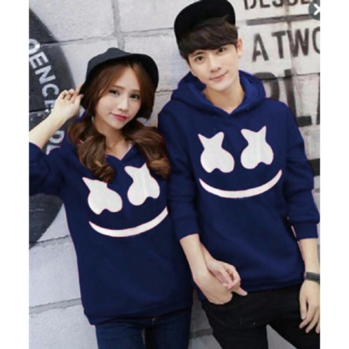 Jakarta Couple - Sweater Couple Marcell Baju Couple Sweater Pasangan
