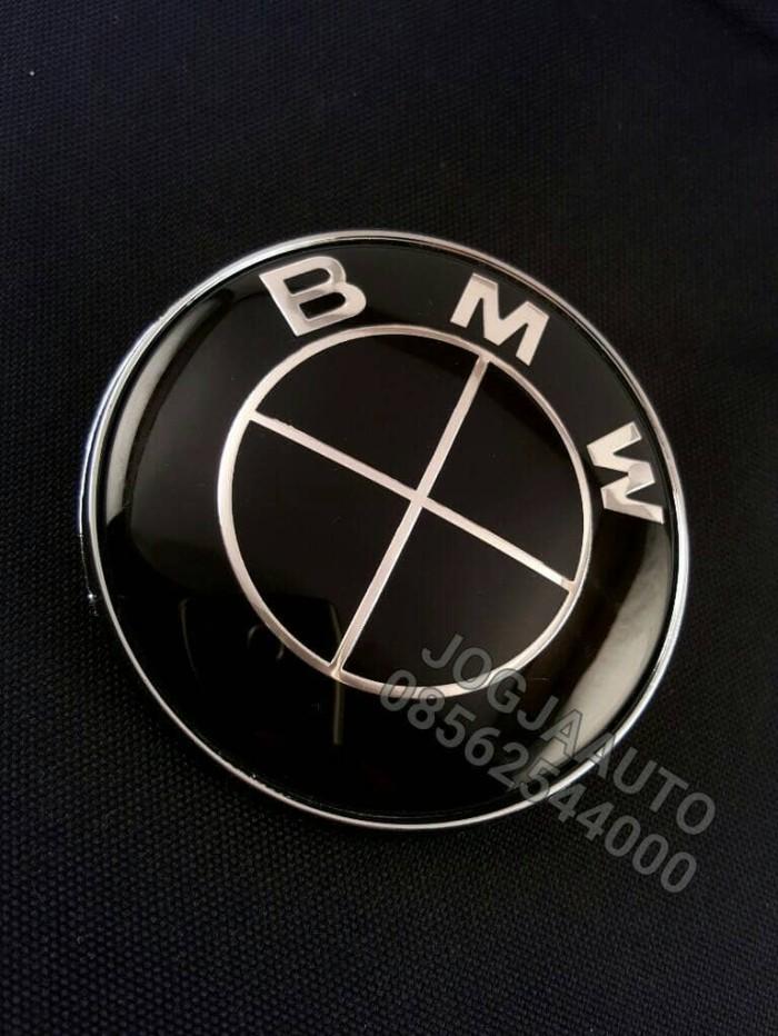 Foto Produk Emblem Bmw Full Black 82mm Untuk Kap Mesin Atau Bagasi dari jogjaauto