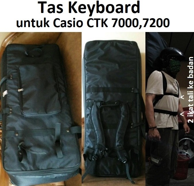 harga Tas Keyboard Untuk Casio Ctk 7000,7200 Tokopedia.com