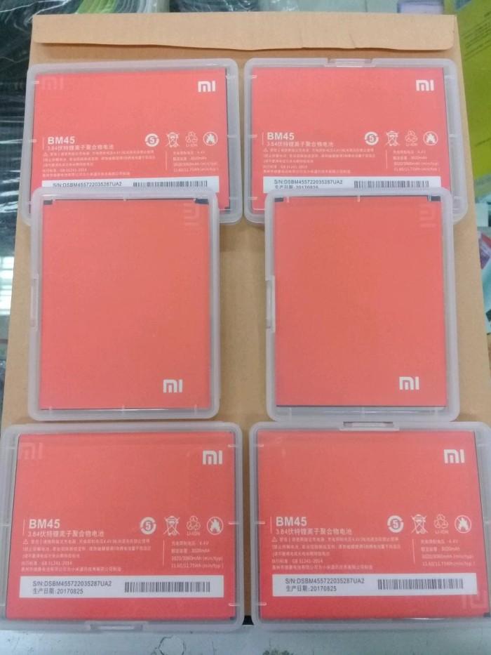 harga Baterai original xiaomi redmi note 2 /bm45/baterai/battrey/batre hp Tokopedia.com