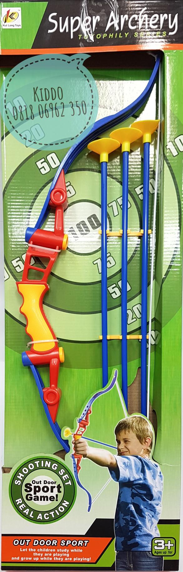 Lumi Toys Super Archery Mainan Panah Panahan Daftar Harga Anak Jual Nay Tokopedia Source Memanah 40