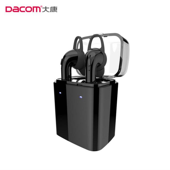 harga Dacom gf7 tws charger box stereo bluetooth earphone headset - hitam Tokopedia.com