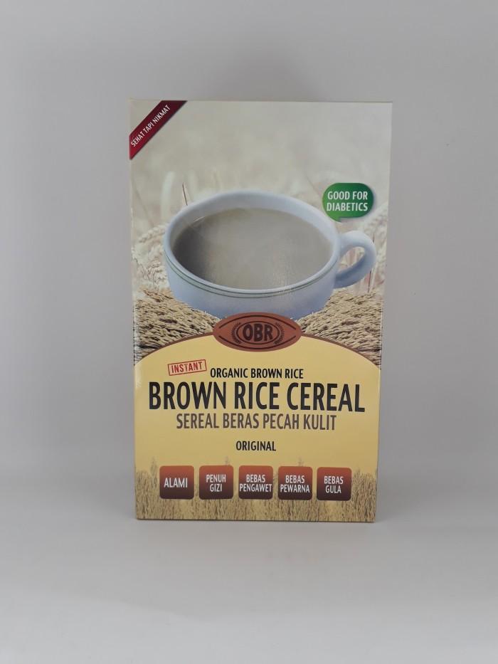 harga Obr - instant organic brown rice cereal original / susu beras cokelat Tokopedia.com