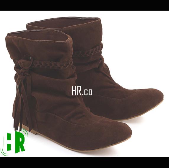 harga Sepatu boot casual wanita boots cewek distro fashion Tokopedia.com