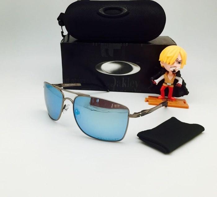 TERLARIS Oakley Gauge Gun Light Blue Kacamata Polarized Murah Kekinian 333b6e37c9
