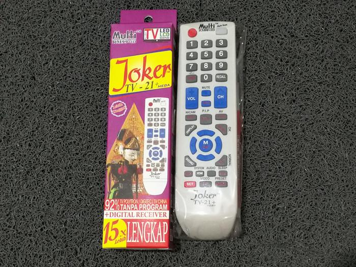 harga Remote multi universal tv digital receiver lcd led televisi joker Tokopedia.com