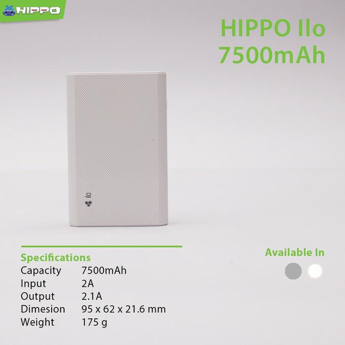 ... Powerbank Hippo Ilo F1 7500 mAh Original Hippo powerbank bukan xiaomi