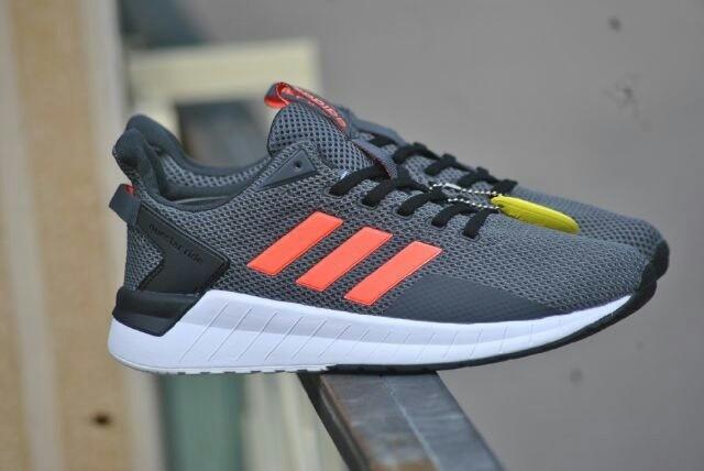 Jual Sepatu Adidas Questar Ride Original Grey Orange Sneaker Shoes e5f1931c5d