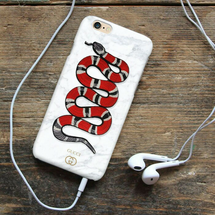 gucci snake wallpaper mobile cover for