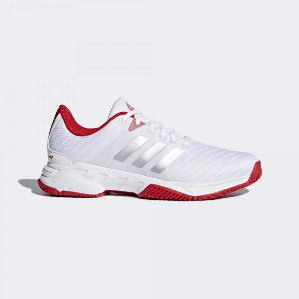 harga Sepatu Tenis Adidas Barricade Court 3 - White Red Tokopedia.com