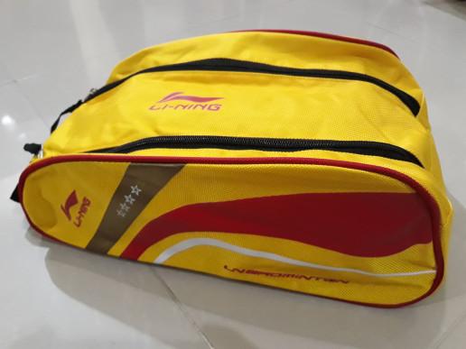 harga Lining tas sepatu li-ning badminton shoes bag ablh106-3 Tokopedia.com