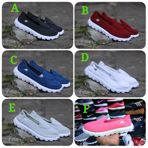 Sepatu skecher wanita grade original untuk santai dan jalan harga ... a84c894b5f