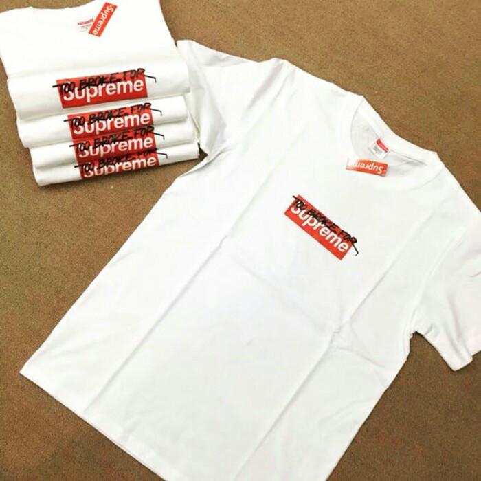 72fbfd82838c Jual T-shirt supreme too broke for - HYPEWEAR.ID | Tokopedia