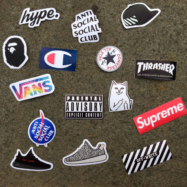Jual Sticker Tumblr Hypebeast Supreme Bape Off White Vans Adidas Yeezy -  Kab. Majalengka - Grab Your Sticker  ea678f55a