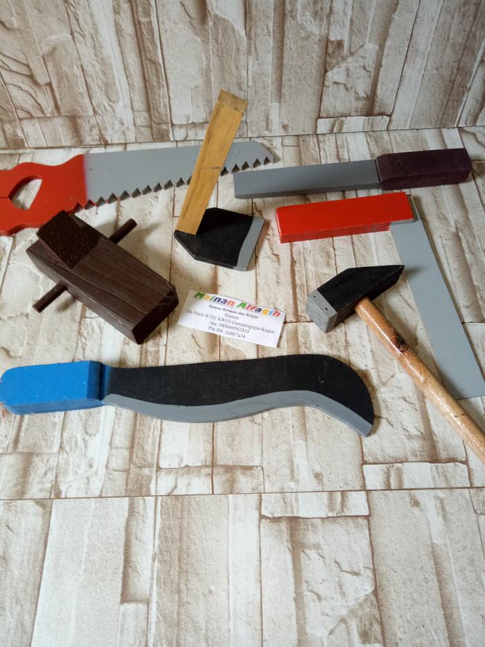 harga Mainan edukasi anak-ape tk paud-alat tukang kayu Tokopedia.com