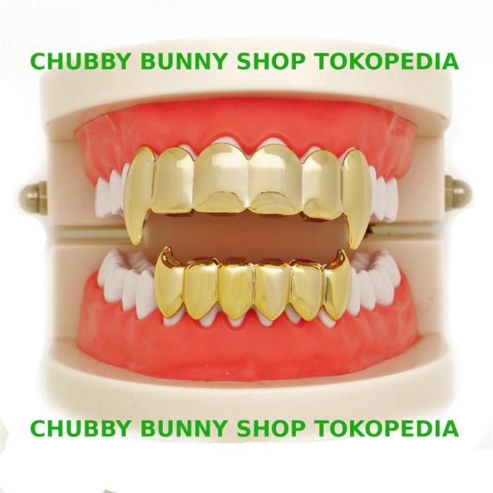 harga Vampire teeth grillz taring / gigi palsu/ gigi joker / vampire fangs Tokopedia.com
