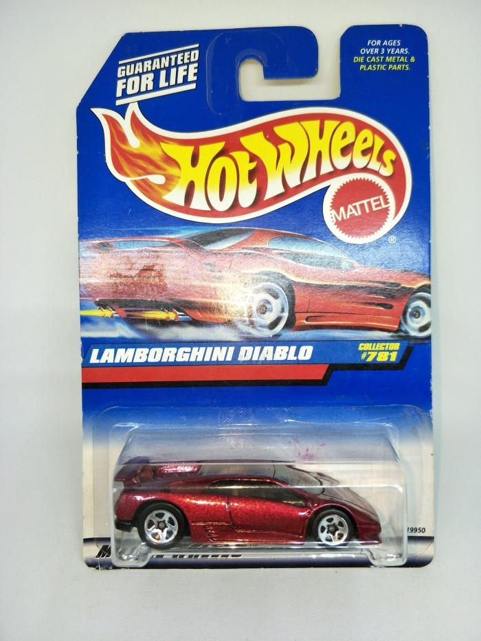 Jual Hot Wheels Lamborghini Diablo Red Dki Jakarta Anfield Hobby