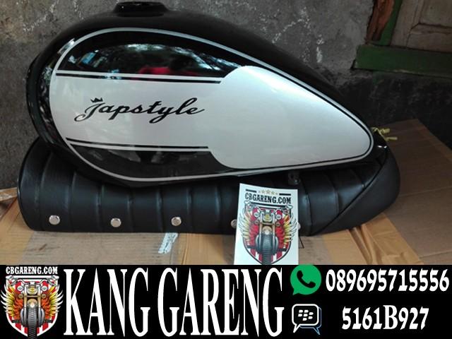 harga Tangki japstyle silver hitam dan jok roti Tokopedia.com